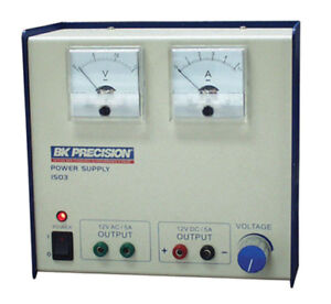 Bk Precision 1503 Power Supply Shipping Is Actual Cost See Listing
