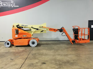 2002 Jlg E400ajpn 500lb Cushion Telescopic Boom Lift Ac Power Aerial Lift