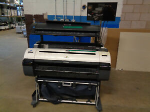 Canon Imageprograf Ipf 760 36 Wide Format Meter 181k Sqft W Colortrac M40 ct