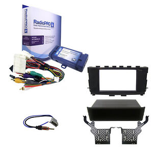 Radio Replacement Interface W Single Double Din Dash Kit Antenna For Altima