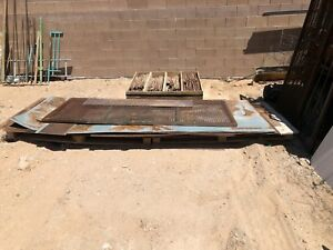 1 4 Inch Thick 4x8 Steel Plate and 1 8 Thick Steel Plate