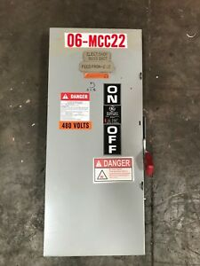 Ge 200 Amp Heavy Duty Disconnect 600 Vac Th3364