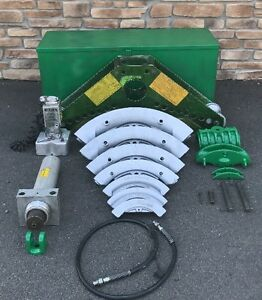 Greenlee 885 Hydraulic Bender 1 25 5 Greenlee 915 Electric Hydraulic Pump