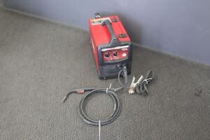Lincoln Electric 140 Amp Weld Pak 140 Hd Mig Wire Feed Welder With M lin012889