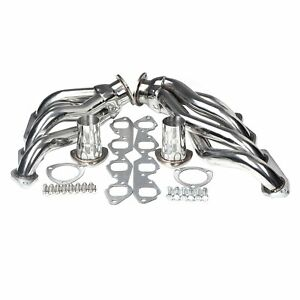 Stainless Exhaust Manifold Shorty Race Header Fit Big Block 396 402 427 454 502