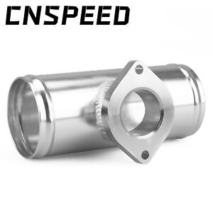 2 5 63mm Turbo Aluminum Flange Pipe For Gd rs Fv Rz Bov Blow Off Valve Adapter