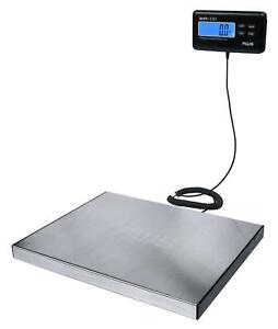 Postal Weighing Scale Digital Stainless Steel Heavy Duty Shipping 330lbs X 0 1lb