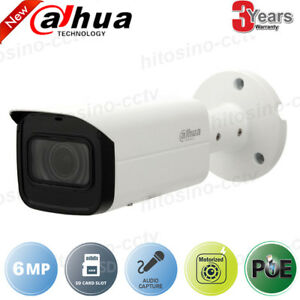 Dahua 6mp Poe Built in Mic Motorized Bullet Security Camera Ipc hfw4631h zsa