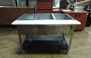 Duke 303 Commercial Aerohot 3 Compartment Hot Food Steam Table