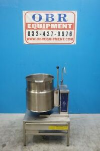 Cleveland Electric 12 Gallon Tilt Kettle Model Ket 12