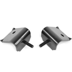 63 65 Falcon 64 65 Mustang Engine Mount Bracket V8 Upper Frame Side Pair
