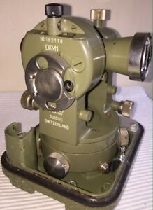 Kern Dkm1 Swiss Survey Theodolite No 182118