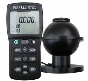 Tes 133 Luminous Flux Meter Auto Ranging From 0 05 To 7000 Lumens New Tes133 Zf