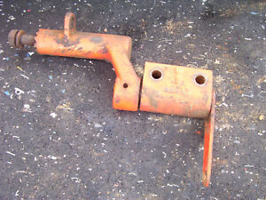 Vintage Ji Case 530 Gas Tractor Clutch Pedal Shaft Mount Assembly