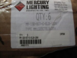 1 Case Of 6 Mercury Electric Mm 132 oct c elb 120v Fluorescent Lamp Strip