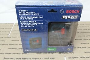 Bosch 5 point Self leveling Alignment Laser Gpl 5 S