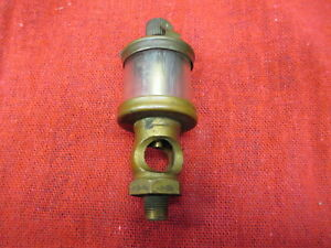 Lunkenheimer Royal 0 Brass Hit And Miss Gas Engine Oiler