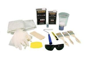 Fiberglass And Resin Repair Kit 1 Quart Resin 2 Yards Of Fiberglass Plus