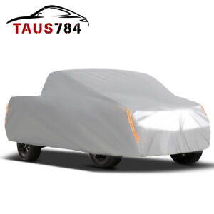 Full Pickup Truck Cover Outdoor Breathable Waterproof Sun Uv Rain Heat Resistant