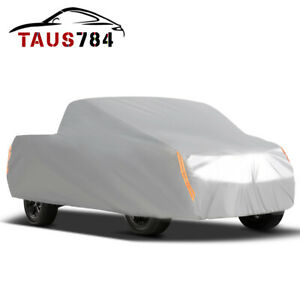 Premium Truck Cover Outdoor Tough Waterproof Sun Uv Rain Heat Resistant Pickup