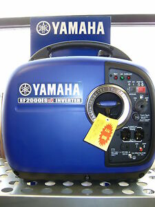 Yamaha Ef2000isv2 Generator Inverter Camping Tailgating New 3yr Warranty Quiet