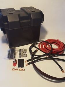 Civic Battery Relocation Kit H Series W battery Box