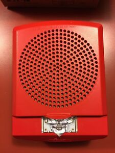 New Lot Of 8 Wheelock Lspstr Led Wall Speaker Strobe Red Free Shipping