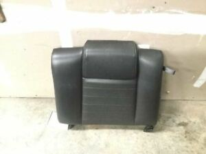 2005 Ford Mustang Gt Rear Left Side Upper Seat Cushion Black Oem Leather 7046