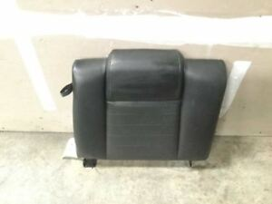 2005 Ford Mustang Gt Rear Right Upper Leather Black Seat Cushion Oem 7045