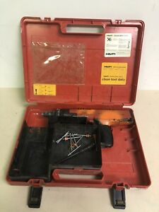 Hilti Dx 36m Powder Actuated Nail Gun used Free Shipping