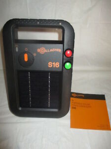 Gallagher G341414 S16 Solar Electric 30 Acre Fence Charger New