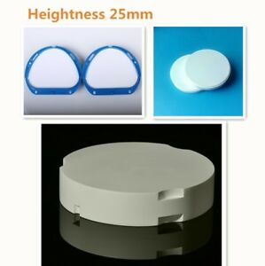 25mm Super Translucent Dental Lab Cad Cam Zirconia Block Blank Disc Supplies