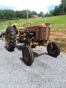 Massey Ferguson Mf50 Gas Tractor 1965 ish Read Description With Sickle Mower