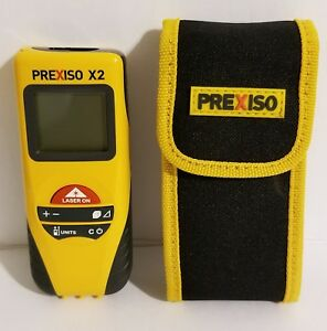 Prexiso X2 Laser Distance Measurer With Case