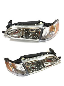 93 97 Toyota Corolla Dx Euro Style Clear Headlights 1993 1997