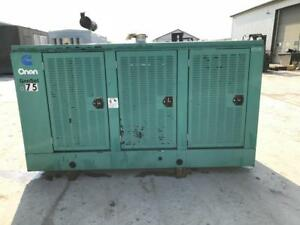 _175 Kw Cummins Onan Generator 12 Lead Reconnectable 277 480 Volts