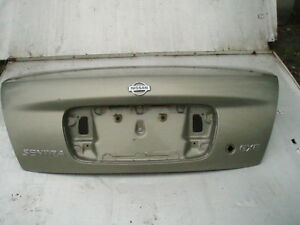 2000 2006 Nissan Sentra Trunk Lid Panel Only Without Spoiler Paint Code Cv2