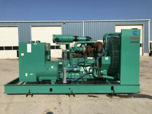 _500 Kw Cummins Onan Generator 12 Lead Reconnectable No Circuit Breaker
