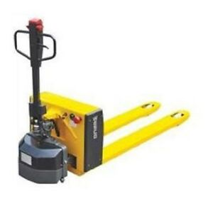 Manual Hydraulic Electric Pallet Jack Lift Span 3 To 7 1 2 20 1 2 x48 L Forks