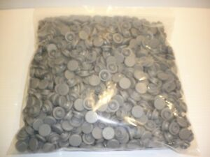 Gray 1000 Piece West Brand Rubber 20mm Serum Stopper Lot Snap On 1e