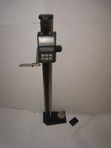 Brown Sharp Digit hite Iv 32 Inch Height Gage 599 1012 4 Only For Parts