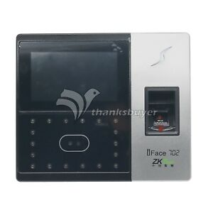Zkteck Iface702 Biometric Identification Attendance Face Reader Finger Access