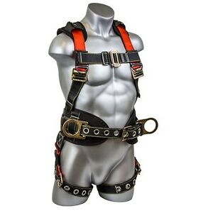 Tree Climbing Harness Construction Back Support Personal Safety Fall Full Body