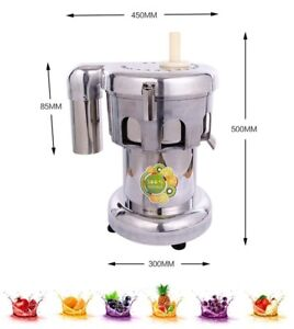 Goldenwall Wf a2000 Commercial Juice Extractor Stainless Steel Juicer Juice Mac