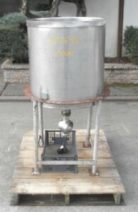 40 Gallon Stainless Steel Tank