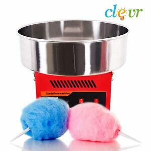 Commercial Cotton Candy Machine Party Pink Floss Maker Party Supplies Red