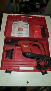 Hilti Wsr 900 pe Variable Reciprocating Saw W Case accs Great Condition