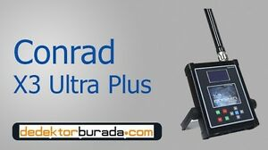 X3 Ultra Plus Ground Scanner 3d Detection Systems Conrad Detectors