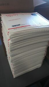 100 Usps Bubble Envelopes Flat Rate Priority Shipping Supplies Mailers Case Lot
