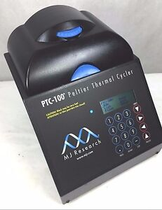 Mj Research Ptc 100 Pcr Peltier Thermal Cycler 60 well Warranty